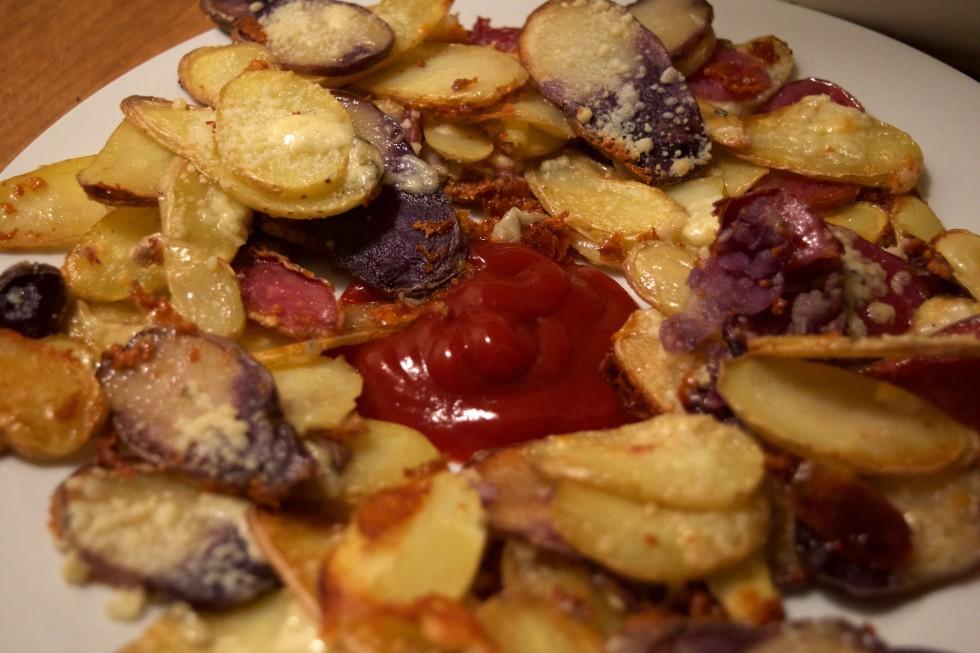 Bleu Cheese Potatoes